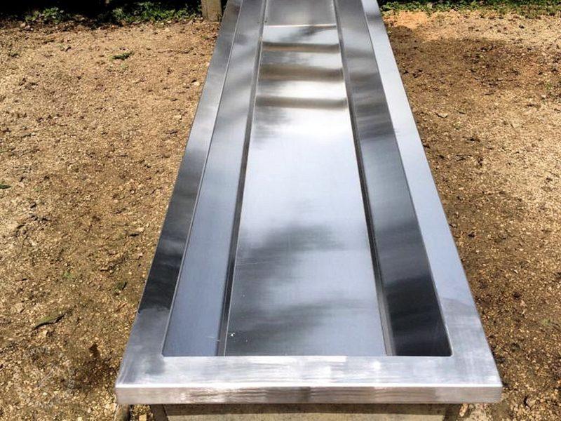 Wassertrog Aluminium